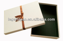 2016 speaking chipboard base and lid rigid gift box