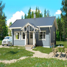 Newly designed low cost cheap prefab wooden house / prefab homes made in China for sale EY-V204