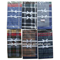 wholesale Brocade 100% cotton mens Handkerchief