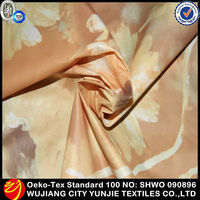 thin waterproof polyester fabric/waterproof fabric for patio cover/printed waterproof fabric