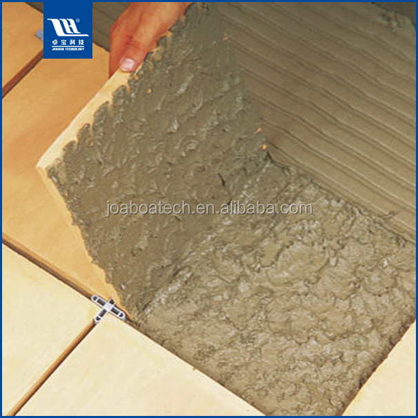 modified flexible tile adhesive