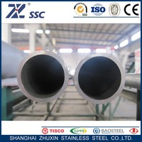 Industru Large Diameter LSAW ERW EFW 304 304L 321 316L 309S 310S Stainless Steel Welded Tubes Pipes with Seamless Treatment