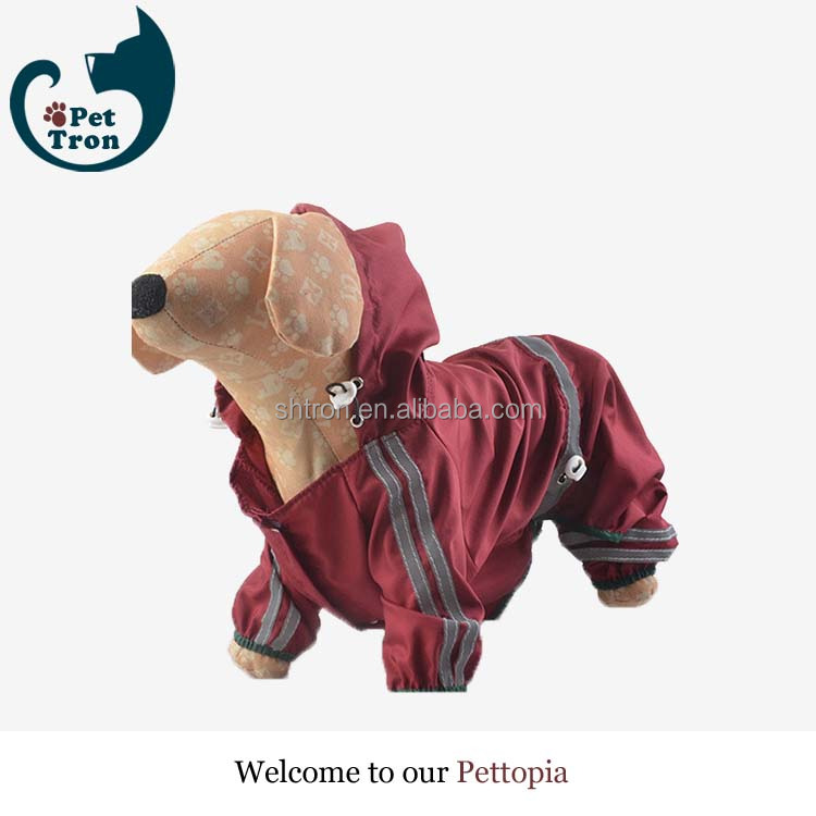Best price high quality customized pvc pet dog raincoat