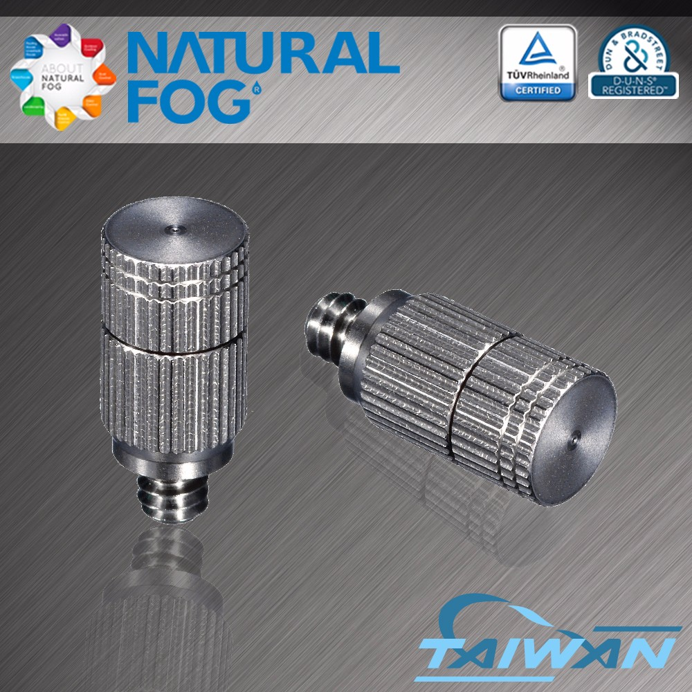 Taiwan Natural Fog Premium Quality Cleanable Anti Drip Stainless Steel Spray Nozzle