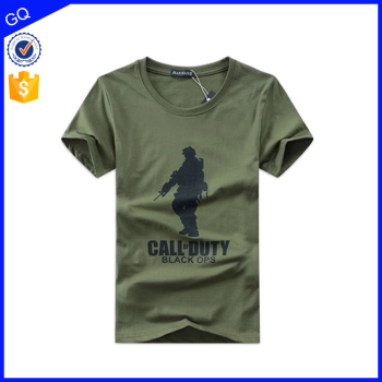Colorful fashion design manufacturers china wholesale in bulk custom military t shirts