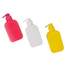 Cosmetic packaging 250ml Empty hdpe lotion containers shampoo bottles for  body lotion baby shampoo sun scream