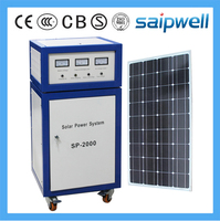 Saipwell 2000W compact solar energy generating power system price for solar generator (SP-2000H)