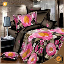 bed cover flower design 3d bedding set 4pcs queen size,quilt cover/bedspread/bed linen/bedsheet/bed clothes/duvet cover