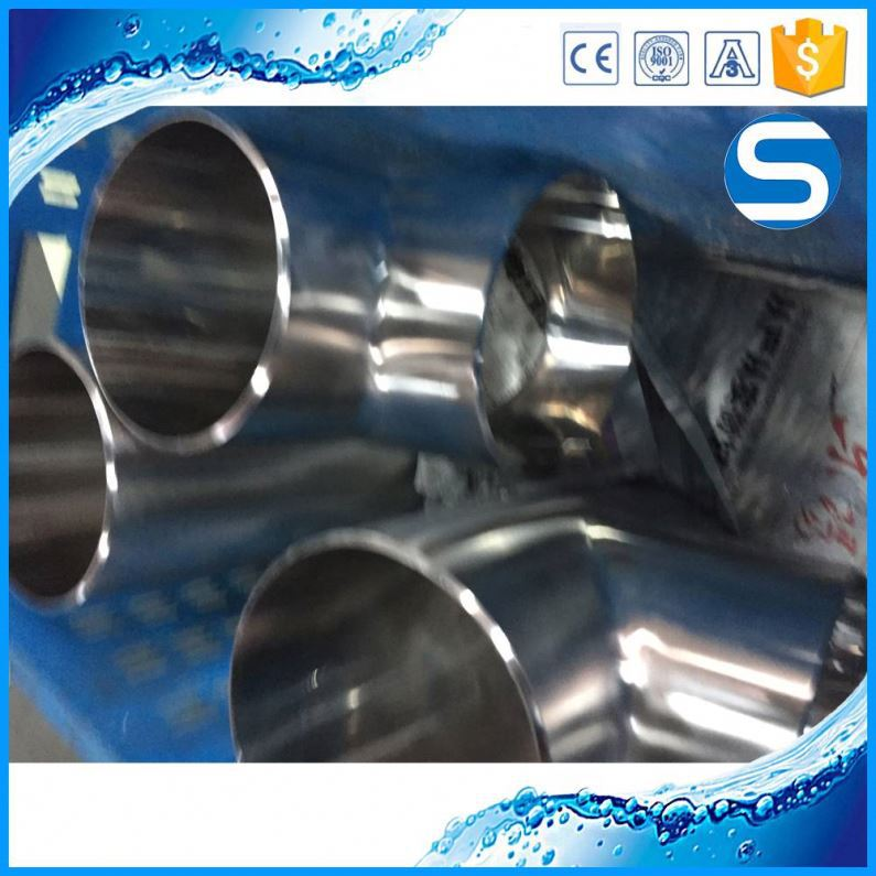 All Size Iso9001 Stainless Steel Eccentric Pipe Fittings /Cross Tee