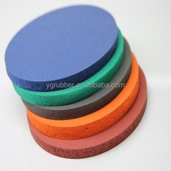 Heat press silicone foam pad