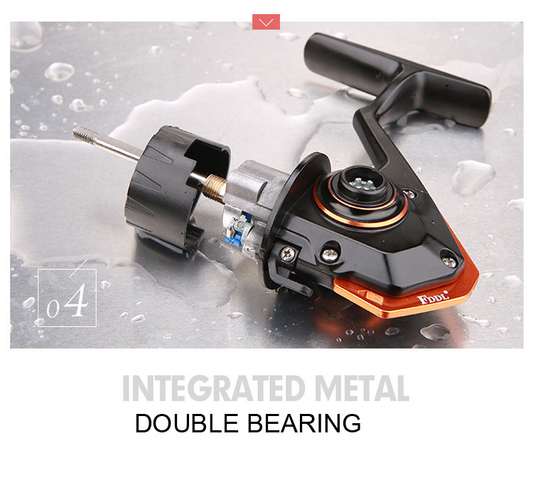 Ningbo 13+1bb Full Metal Surf Casting Fishing Spinning Reel CNC Handle