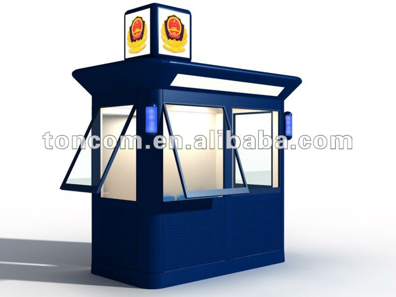Police watch Booth