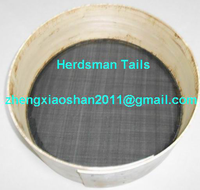 Chinese traditional horse hair sieves made by hand