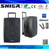 SHIER 2016 New Arrival Portable AK12-308A Wireless Subwoofer Speakers