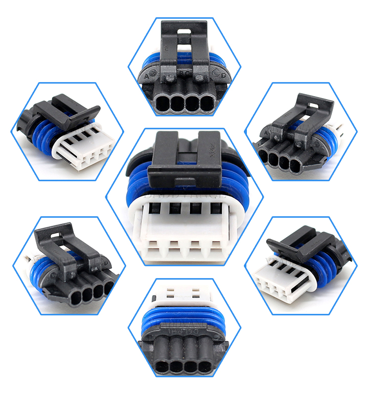 15413116 4 pin gt 150 ls truck/LS2/LS3/LS7 sealed coil pack connector
