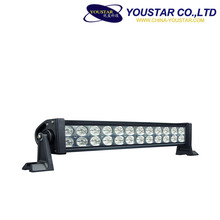Double row aluminum housing 72 watt auto accessory straight 13.5Inch led light bar for autos
