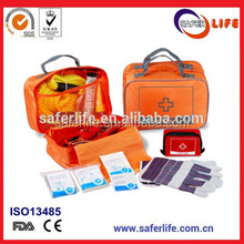 Professional Manufacture Emergency Car First Aid Kit and Medical Content First Aid Kit with CE FDA ISO