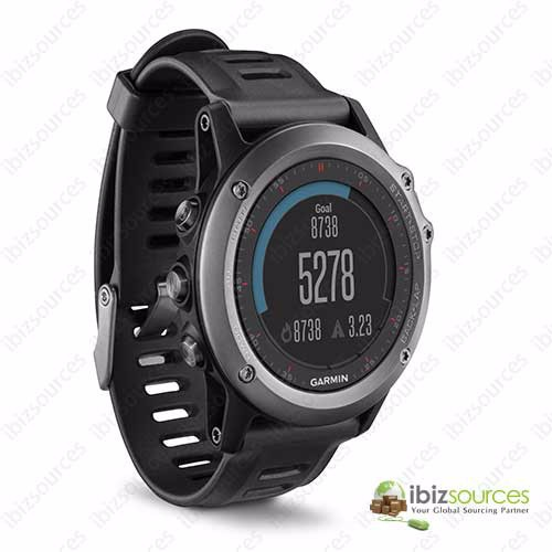Genuine New Garmin Fenix 3 with Heart Rate Monitor GPS Watch Black