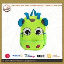 kids neoprene milk cow waterproof school backpack for kindergarden