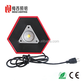 New product 10W rechargeable portable IP65 super bright 18650 battery LED COB working light