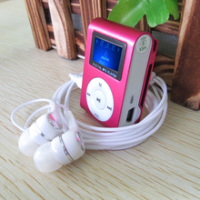 2015 hot sale charger slim mini clip MP3 player manual