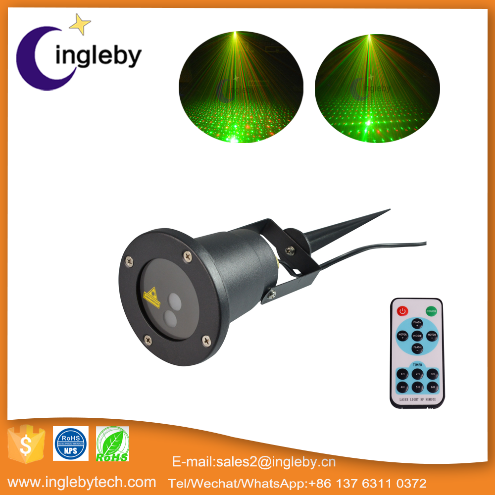 new mini projector static and dynamic remote control laser light show for outdoor