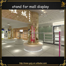 Quality display container kiosk and shoes showcase designs