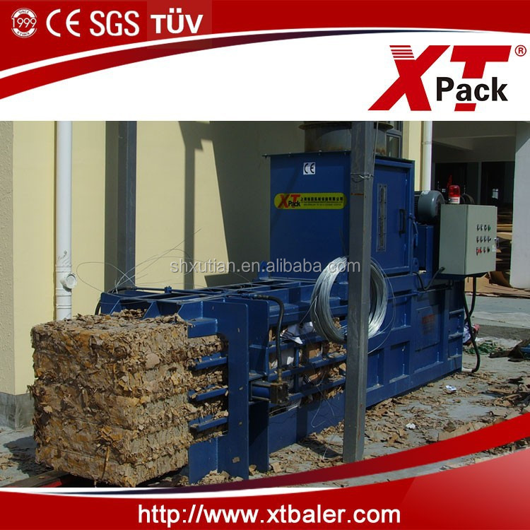 Semi-automatic Horizontal Waste Paper Baling Machine