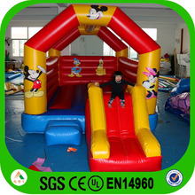 Popular mickey mouse indoor mini bouncy castle for kids