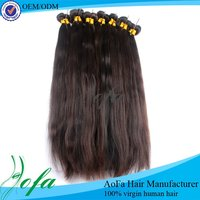 Natural red indian remy hair weave