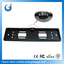 EU license plate frame car camera with waterproof and shockproof