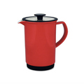 Cafe Style French Ceramic Red Color French Press Coffee