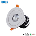High Quality 6W 9W 12W 14W 21W Dimmable Ceiling Round COB Recessed Spot Downlight LED Down Light