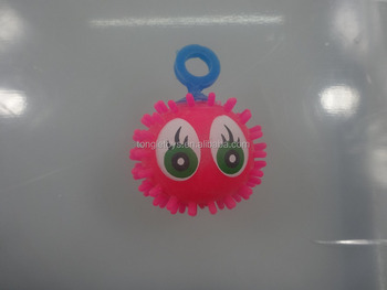 5cm google eye puffer ball for capsule toys