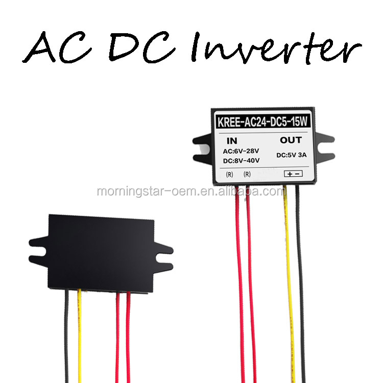Customize model ac dc converter from12v 24v ac to 5v 1A 5W dc converter