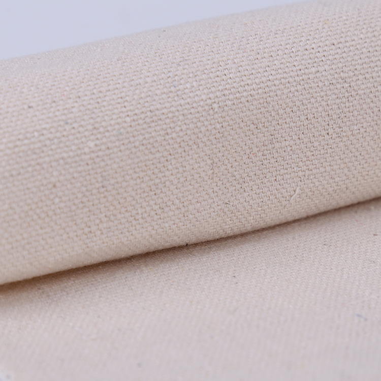 Excellent Material cotton ripstop printing recycled canvas fabric