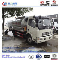 Dongfeng 4*2 type 120 HP 6000 liter bitumen spraying truck