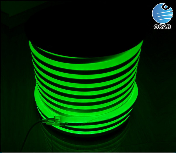 2016 china wholesale led neon ocar 12v led neon flex in rgb color