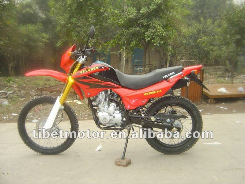 motorcycle bros new 150cc adult dirt bike racing motorcycle(ZF200GY-2)