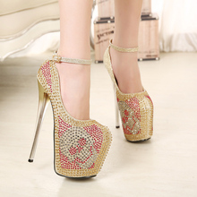 Very fancy sexy girls shoes lady high heels