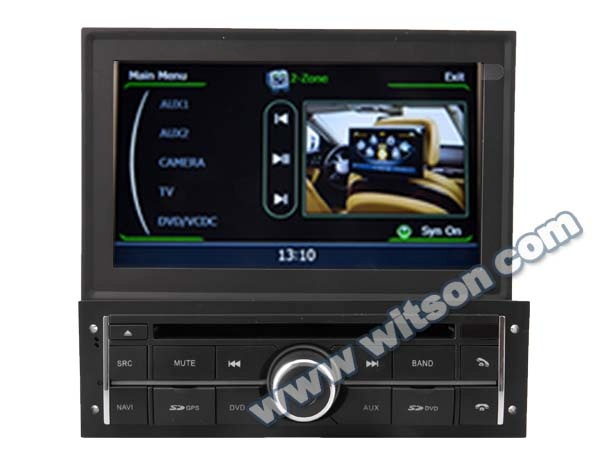 WITSON MITSUBISHI <strong>L200</strong> 2010-2012 NAVIGATION <strong>DVD</strong> WITH A8 CHIPSET DUAL CORE 1080P