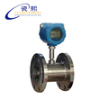 The Stainless Steel Material Without Display 25mm Cheap Water Petrol flow meter