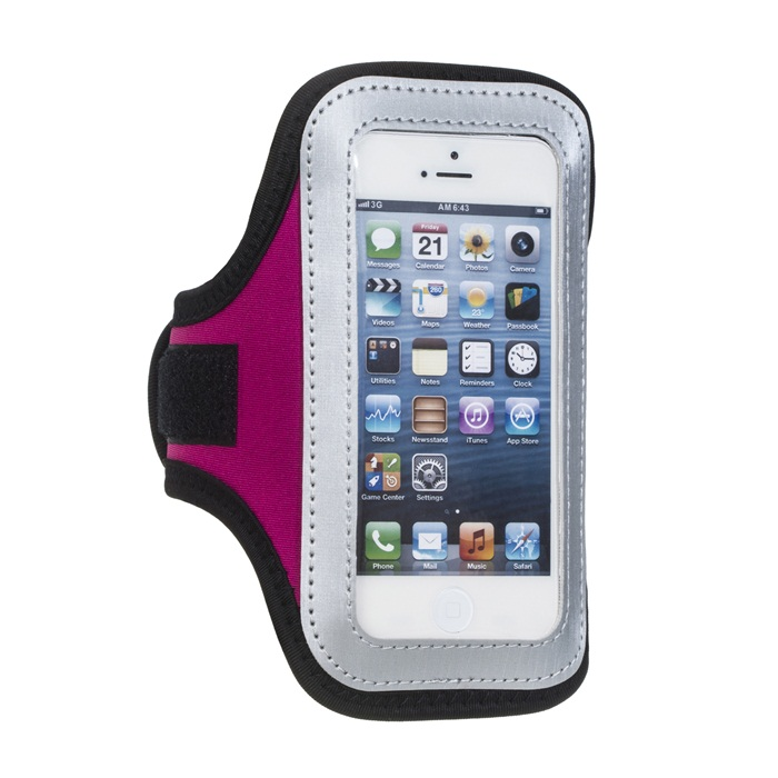 Rose Arm Band Cover Soft Case for iPhone 5 5S