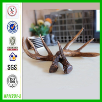 factory custom OEM/ODM resin artificial deer antler
