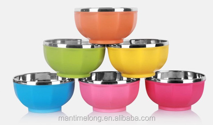 stainless steel bowl baby bowl bowl set
