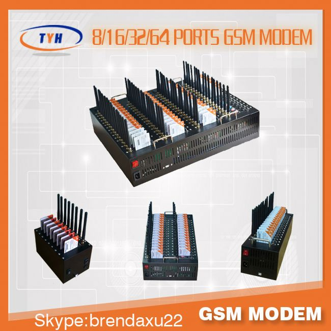low costq2406 8/16/32/64 ports voip goip bulk sms modem gateway,gsm alarm with sms talk