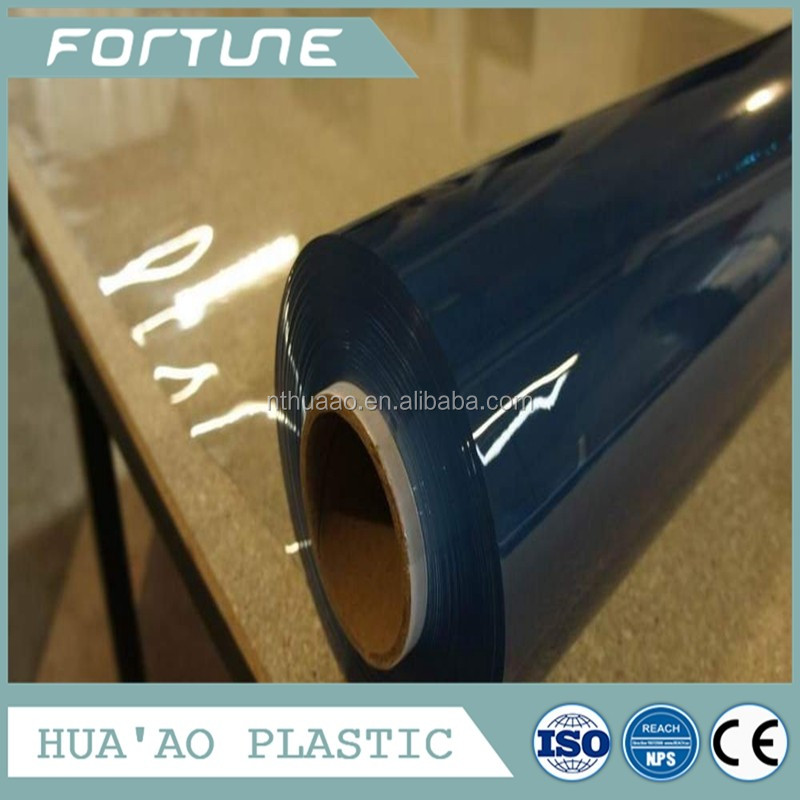 high transparent plastic pvc foil in roll protection sheet