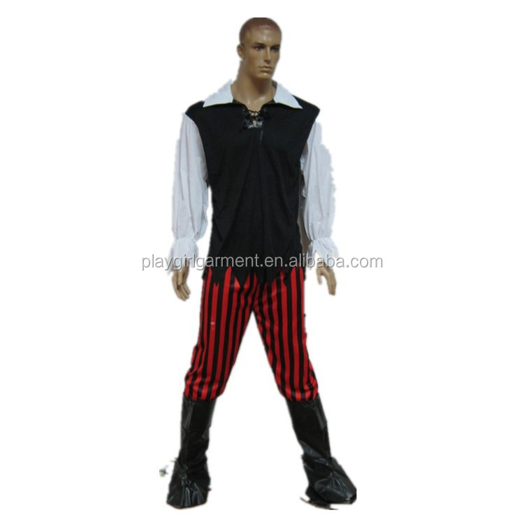 PLMC-0003 Professional medieval adult cosplay pirate costume
