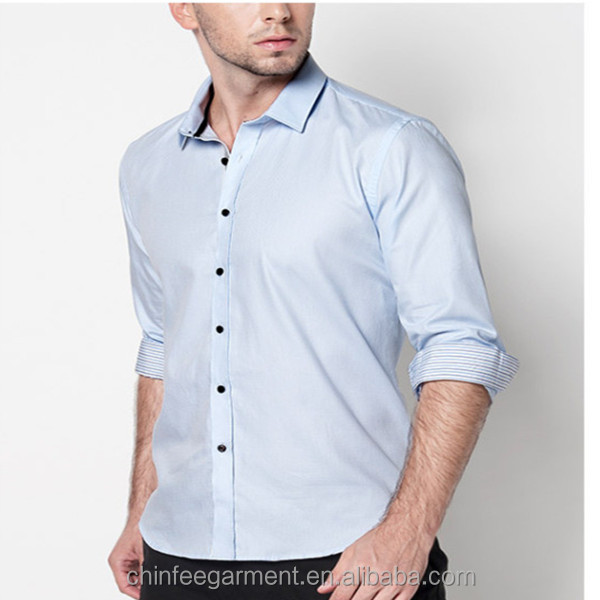 High quality mans mens dress shirts models