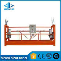 Watsond construction gondola for window cleaning machine